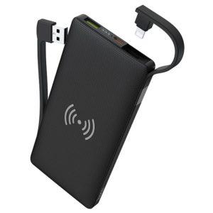 Hoco Wireless Charging inklusive Power Bank S10
